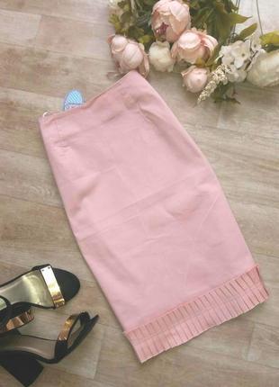 Красивая юбка карандаш миди е&е