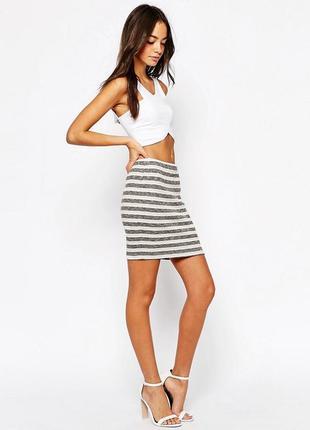 Стильная, теплая юбка модного датского бренда vila