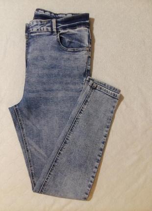 Джеггенсы с очень высокой посадкой, зауженные джинсы скини
