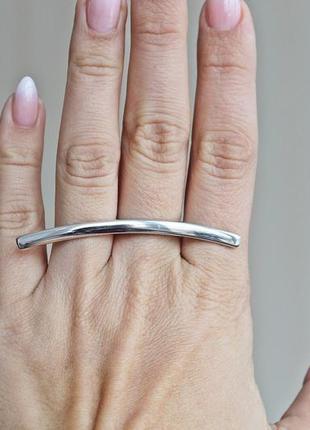 Серебряное кольцо кахетия р.19