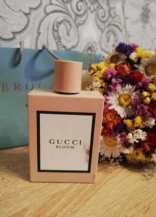100 ml gucci bloom оригинал!!! с брокарда