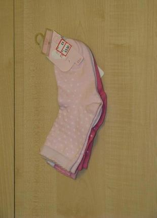 Набор носков mothercare девочке, 4-7 лет