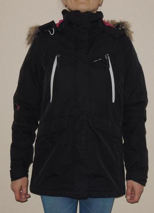 Фирменная мембранная зимняя куртка парка еврозима mckinley exodus 5000 р. m(170)