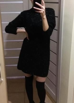 Сукня джемпер зима