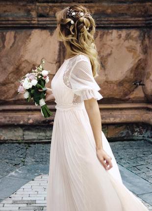 Платье свадебное или для подружки невесты asos