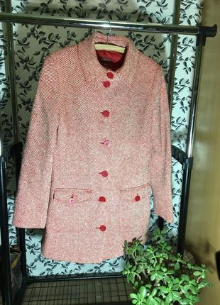 H&m  шерстяное пальто