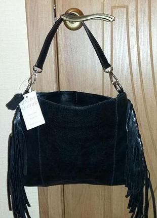 Кожаная сумочка vera pelle (натуральная кожа)