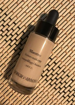 Тональный крем giorgio armani maestro fusion make up maquillage fusion spf 15-вышли сроки