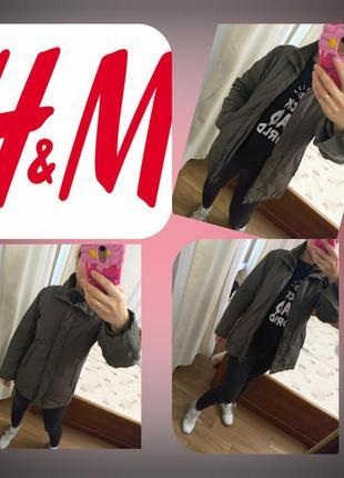 Куртка зима , пуховик h&м