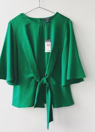 Ізомрудна блуза від primark