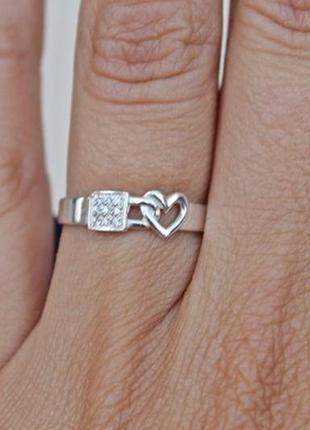 Серебряное кольцо катина р.17
