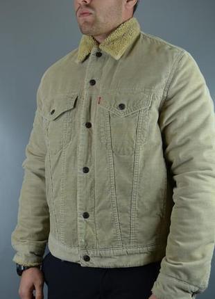 Курточка, джинсовая куртка, джинсовка levis sherpa