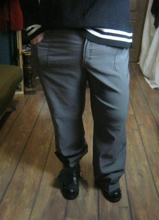 Брюки стрейч в спортивном стиле плотные  с карманами bon prix от 120 132