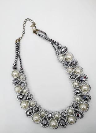 Колье ожерелье на шею подвеска бижутерия украшения на шею