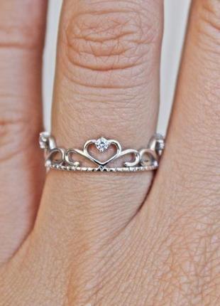 Серебряное кольцо 19056 р.18