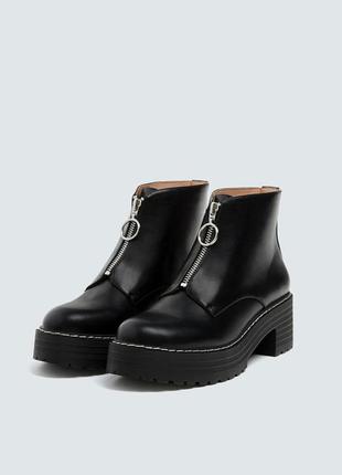 Фирменные ботинки с колечком р. 36, 37, 38, 39, 40