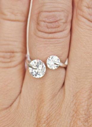 Серебряное кольцо мечта р.17,5-18