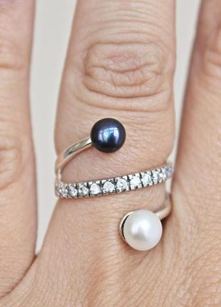Серебряное кольцо ариэль р.17