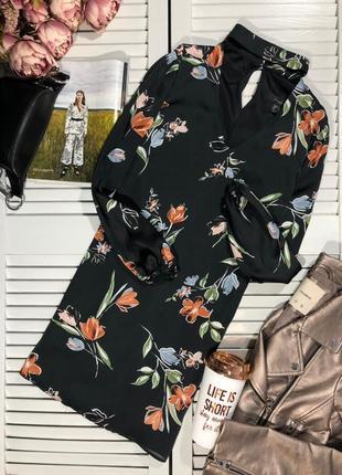 🌿 платье с чокером и флористическим принтом от atmosphere