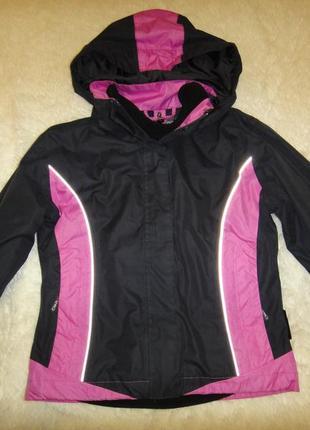Термо куртка с флисовой кофтой cmp clima protect на девочку р.128
