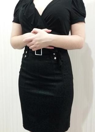 Karen millen  черное платье