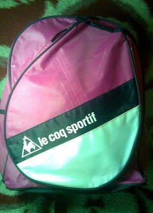 Фирменный рюкзак le coq sportif