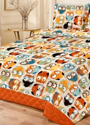 Яркий комплект в кроватку
