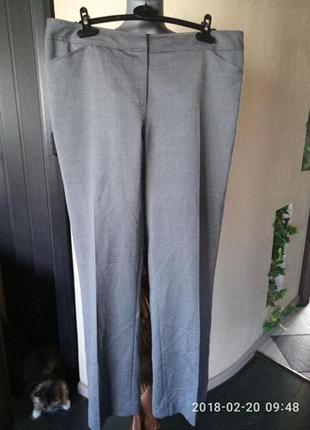 Sale!!! брюки батал 50-52 из нежнейшей,тончайшей шелковистой шерсти