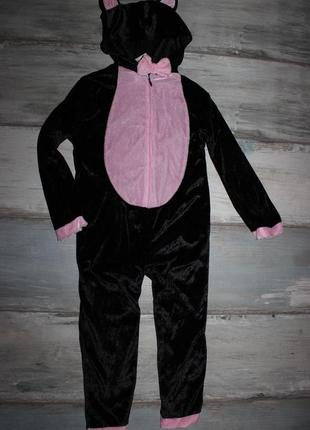 Новогодний костюм котика на 3-4 года.
