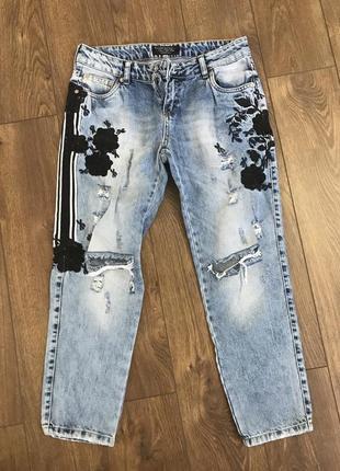 Супер джинсы бойфренды estero rogazza