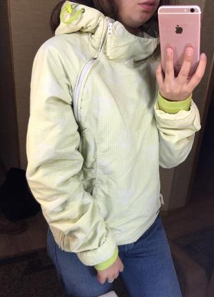 Куртка анорак спорт с капюшоном