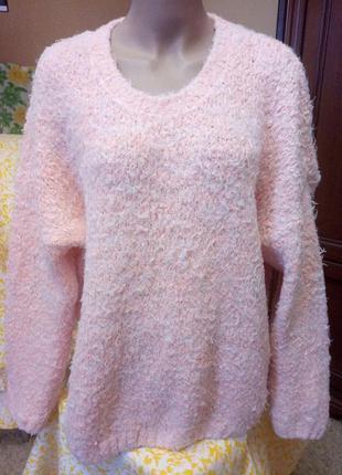 Фактурный, очень мягкий свитер от atnosphere, размер 20/22