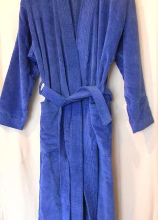 Женский махровый  велюровый халат ringella 40(eur)