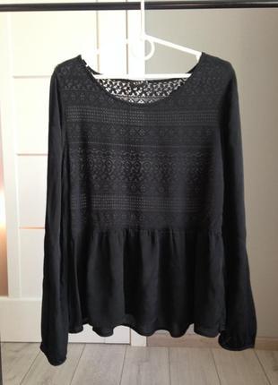Невероятно жественная блуза с кружевной спинкой/ брэндовые вещи - доступные цены!!!