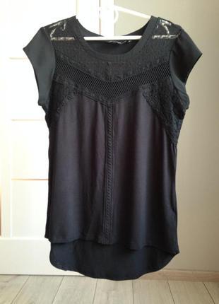 Невероятно женственная блуза с кружевными вставками/ брэндовые вещи - доступные цены!!!