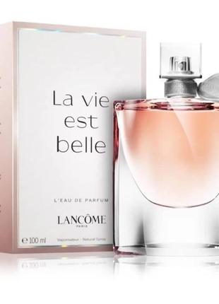 Парфюмированая вода,духи la vie est belle