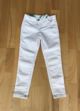 Новые штанишки benetton, размер 6-7 лет