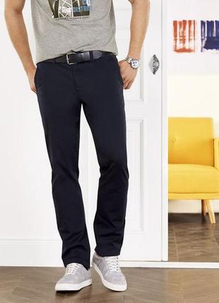 Стильные хлопковые брюки livergy евро 54