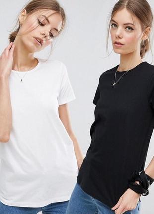 Комплект базовых однотонных футболок 100% хлопок испания