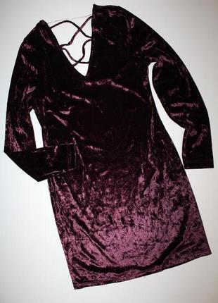Бархотное платье atmosphere. новое.