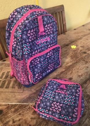 Детский рюкзак crocs со съемной сумкой для обеда оригинал
