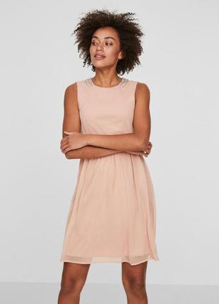 317ba79f4d4d191 Розовые короткие платья Vero Moda 2019 - купить недорого вещи в ...