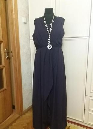 Шикарное платье на чехле yours р.56-58.много вещей больших размеров