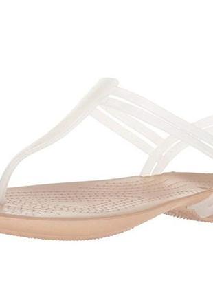 Босоножки crocs isabella t-strap sandal раз.34 - 22см