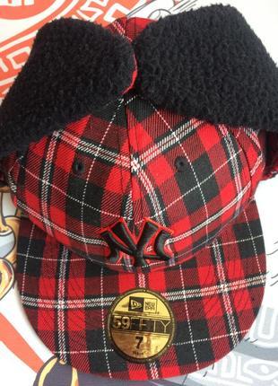 Зимняя кепка  new york