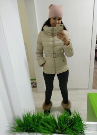 Пуховик натуральный! куртка ! курточка!дешево!