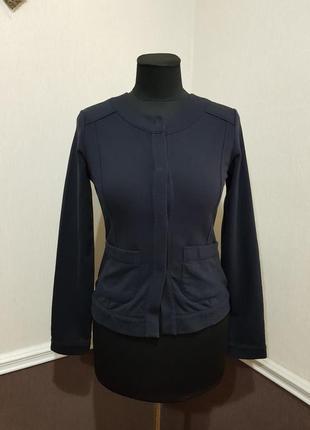 Синий кардиган жакет пиджак marc cain