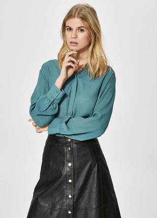 Блуза рубашка selected femme eur 40