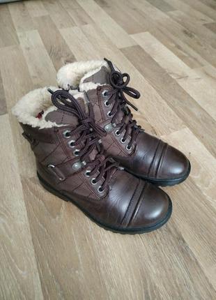 Шикарні черевички clarks ботинки сапоги