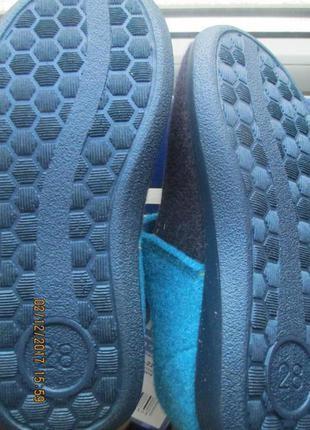 Тапки детские, тапочки, домашняя обувь. inblu3